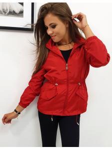 Červená dámska bunda Estela