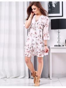 Biele šaty Angello