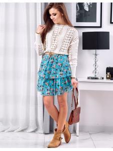 Blankytná sukňa Slames
