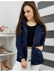 Tmavo-modrá dámska párka bunda Vilis