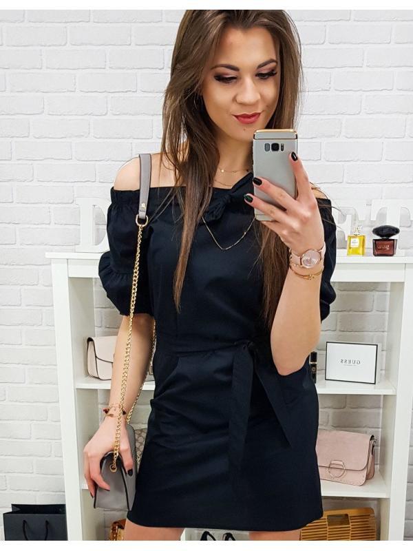 Čierne šaty Elle