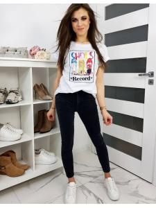Biele dámske tričko Boots