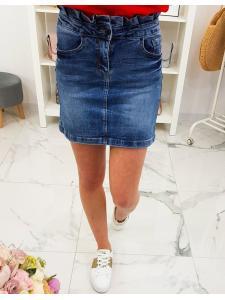 Džínsová sukňa Wow Lady