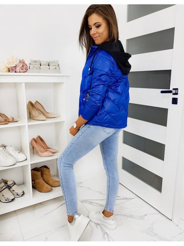 Modrá dámska bunda Stendy