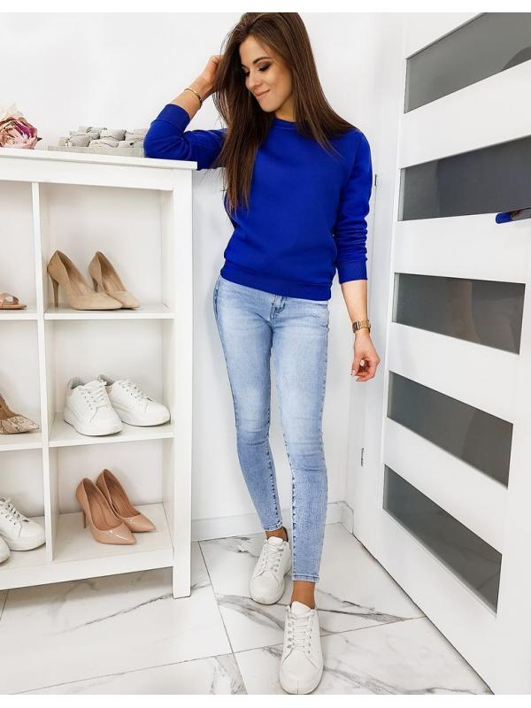 Modrá dámska mikina Fashion II