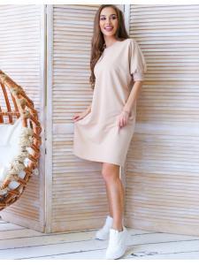 Béžové šaty Manuela