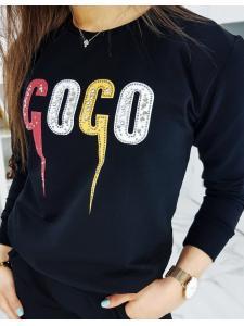 Čierna dámska tepláková súprava Coco