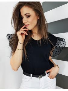 Čierne dámske tričko Sorello