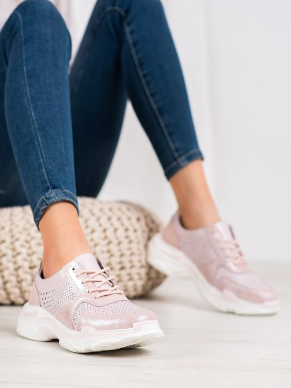 Klasické sneakersy z kože