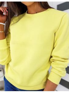 Žltá dámska mikina Fashion II