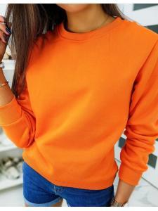 Pomarančová dámska mikina Fashion II