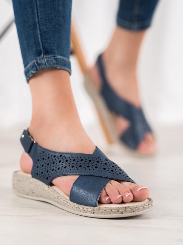 Pohodlné sandále na suchý zips