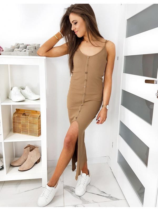 Hnedé šaty Megans