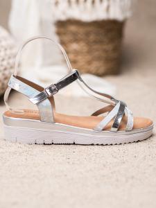 Sandálky s holo efektom