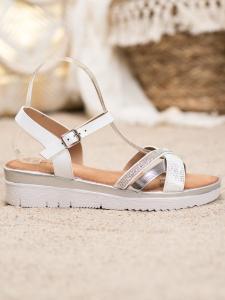 Sandálky na nízkom opätku