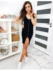 Čierne šaty Megans II