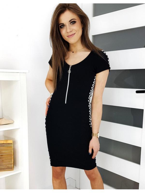 Čierne šaty Belindos