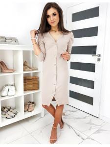 Béžové šaty Loli