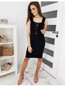 Čierne šaty Vinto