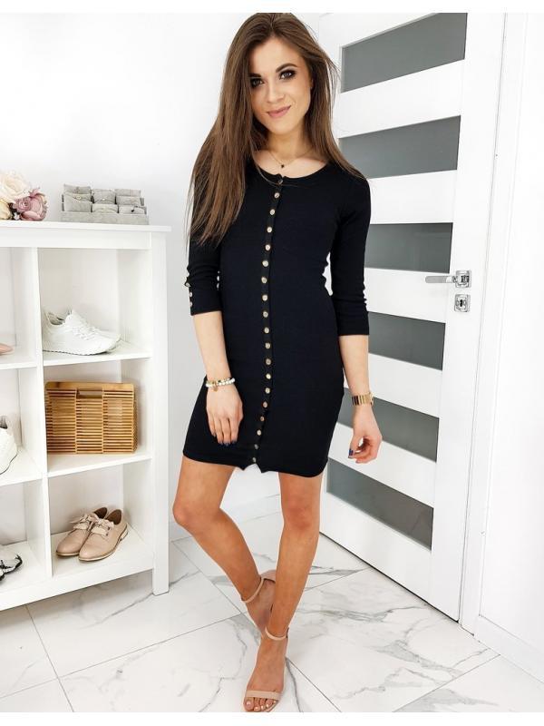 Čierne šaty Moree