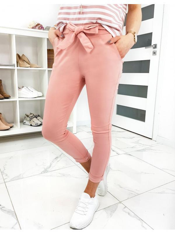 Ružové dámske nohavice Lovely Basic