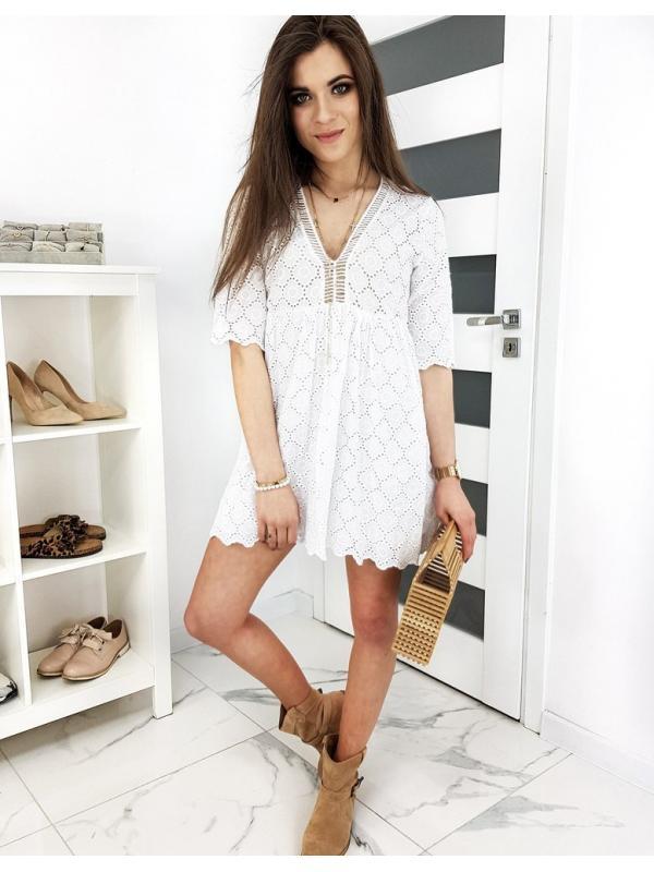 Biele šaty Como