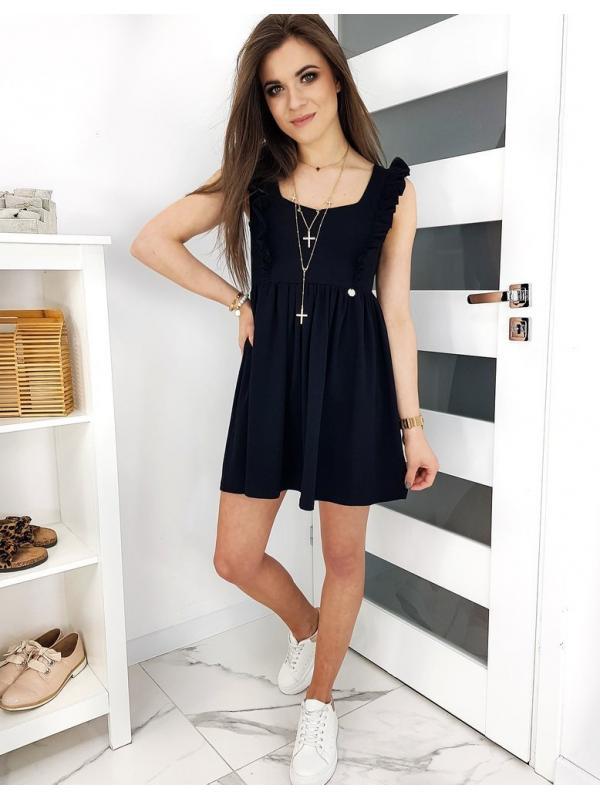 Čierne šaty Valencia
