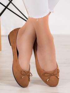 Semišové baleríny