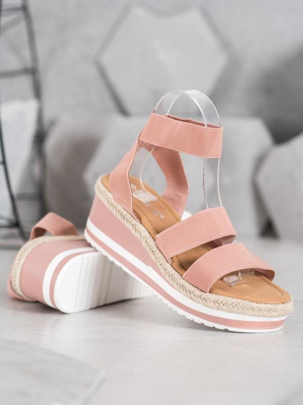 Nazúvacie topánky na kline na gumu