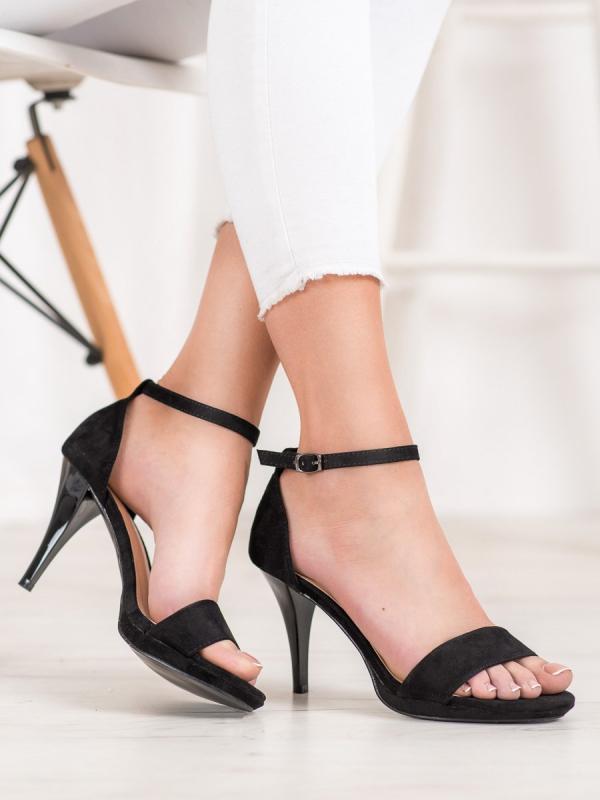 Sexy čierne lodičky