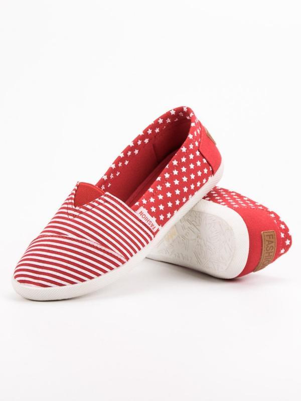 Textilné slipony
