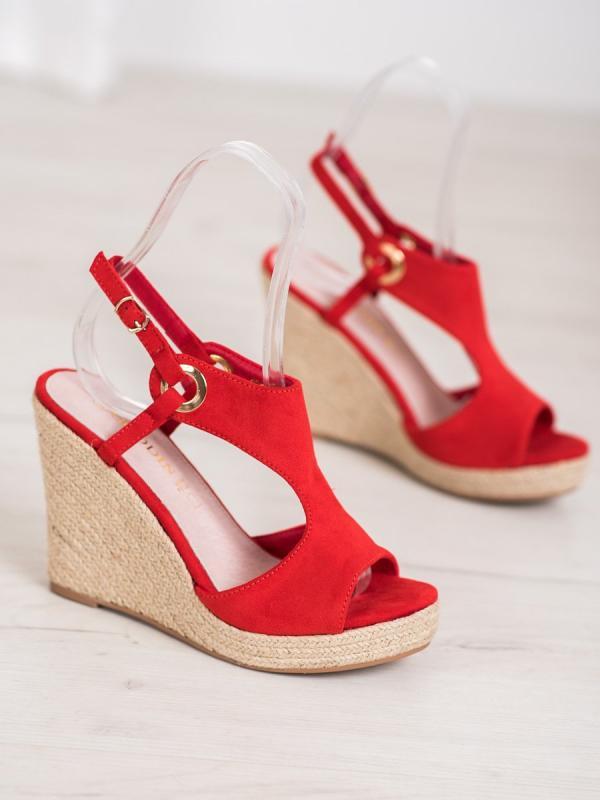 Sandálky espadrilky