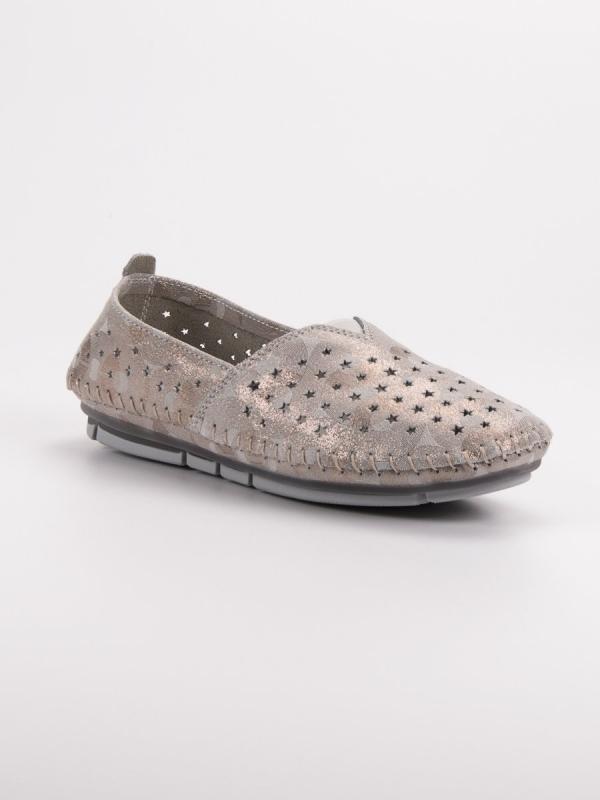 Kožená dámska obuv
