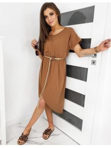 Hnedé šaty Cabana