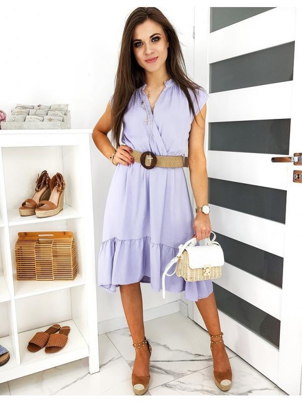 Liliové šaty Belinia