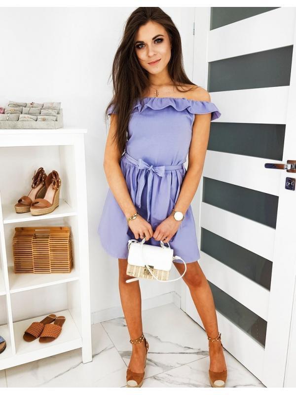 Fialové šaty Espania