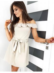 Béžové šaty Espania