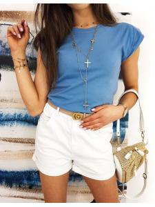 Modré dámske tričko Lamis