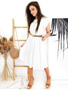 Biele šaty Manuella