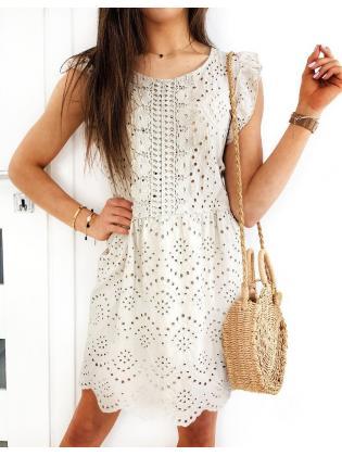 Béžové šaty Florence
