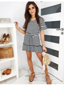 Čierne šaty Zefi
