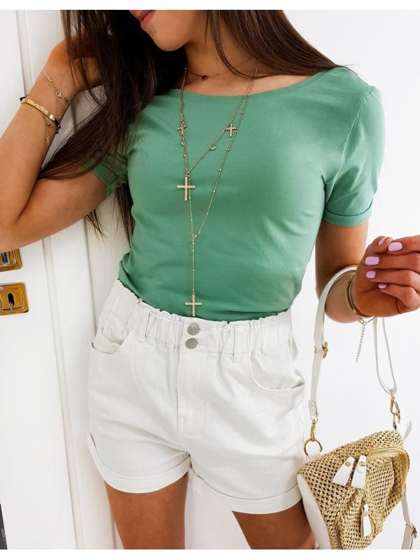 Zelene dámske tričko May