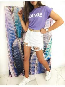 Vresové dámske tričko Change