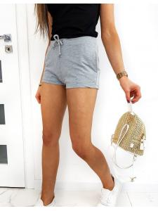 Šedé dámske šortky Sports