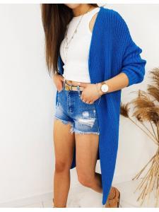 Dámsky sveter kardigan Bartero modrý
