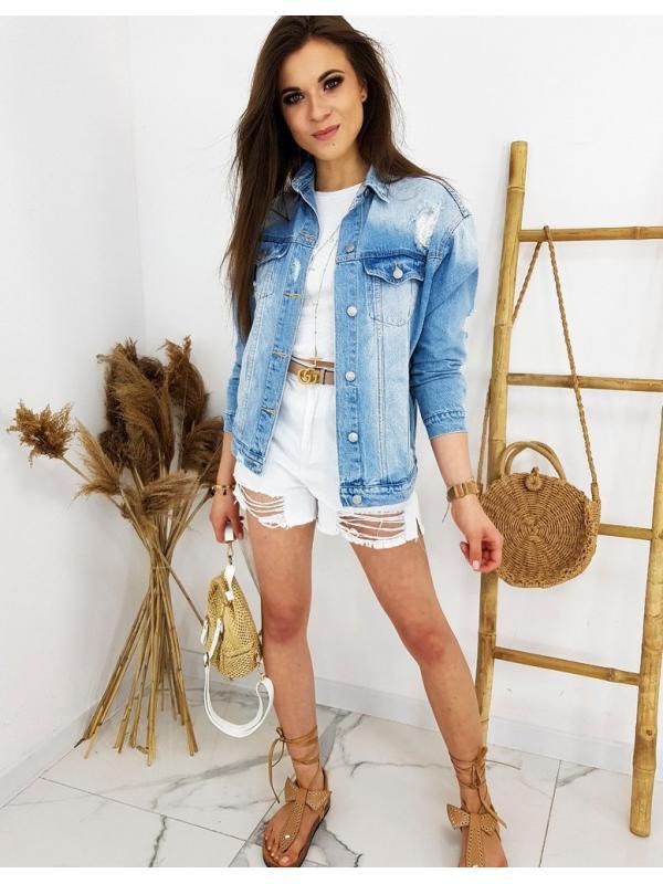 Modrá džínsová katana Mackey