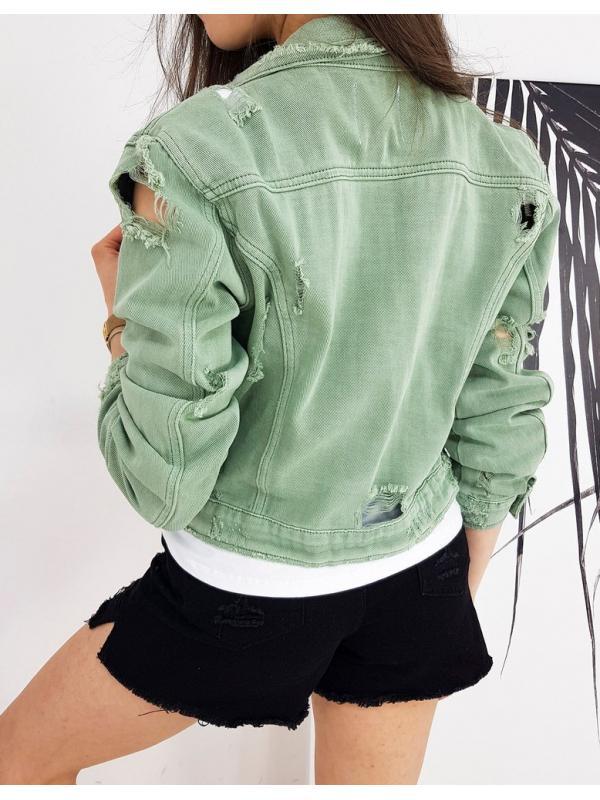 Mätová dámska džínsová bunda Buenos