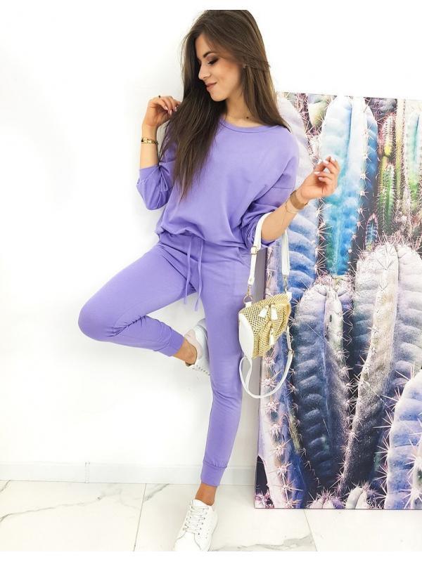 Dámsky komplet Superso liliový