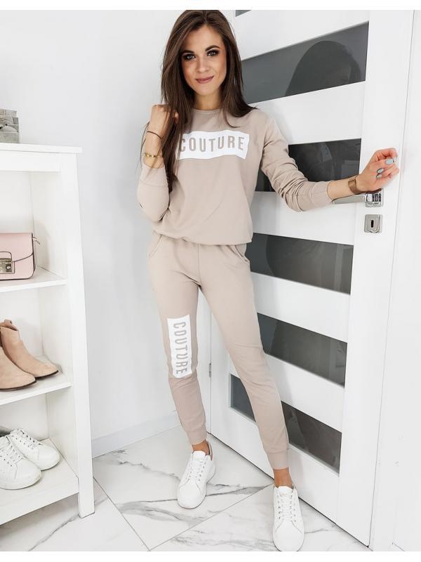 Béžová dámska súprava Couture