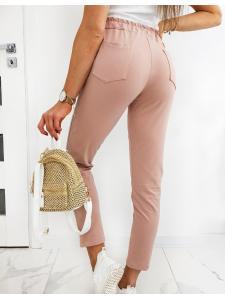 Ružové dámske nohavice Mistic